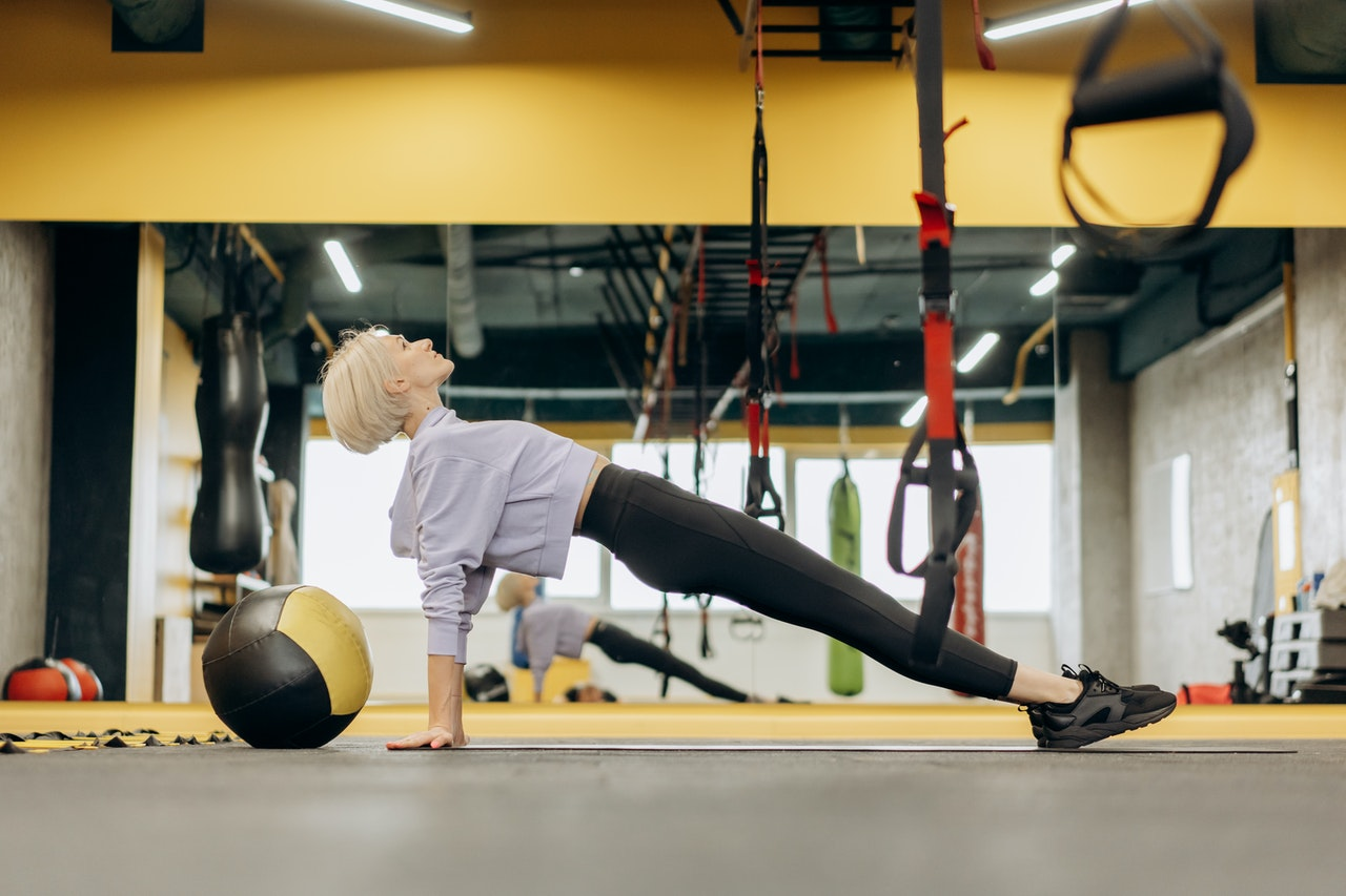A Beginner's Step Towards a Pilates Routine